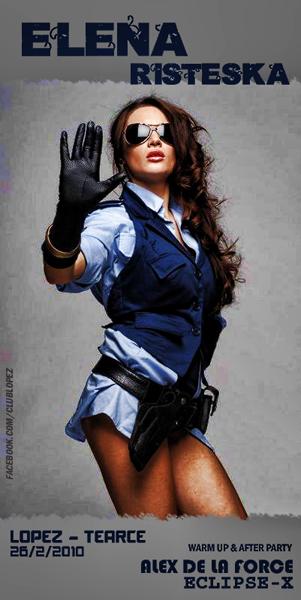 Elena Risteska, Alex De La Force & Eclipse-X @ Club LOPEZ, Tearce