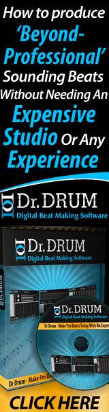Dr. DRUM - Digital Beat Making Software - Produce Beats